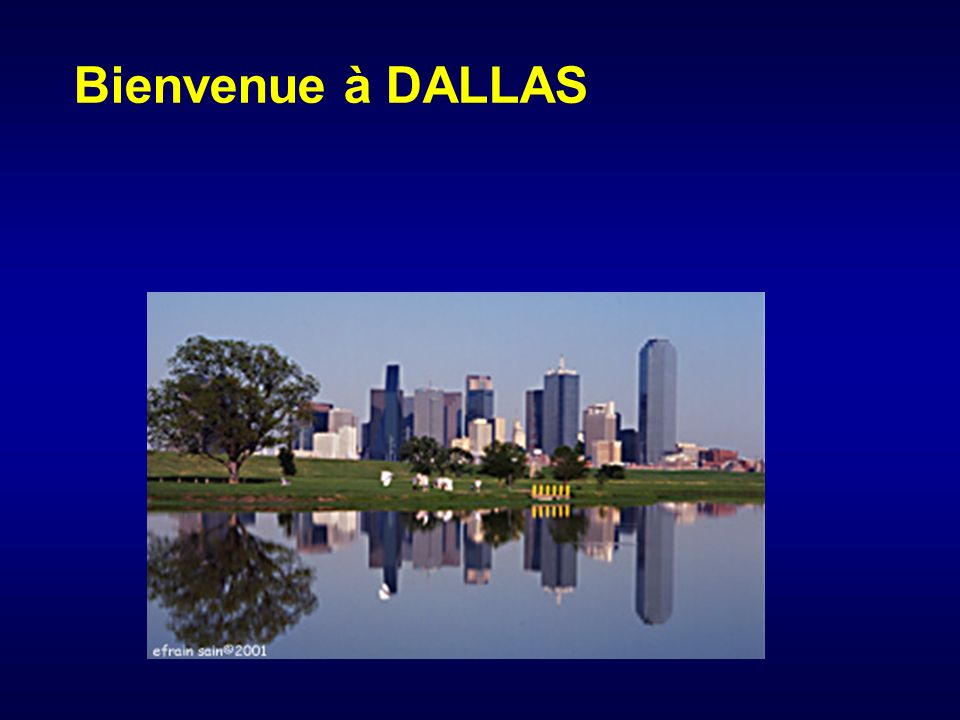 Bienvenue à DALLAS