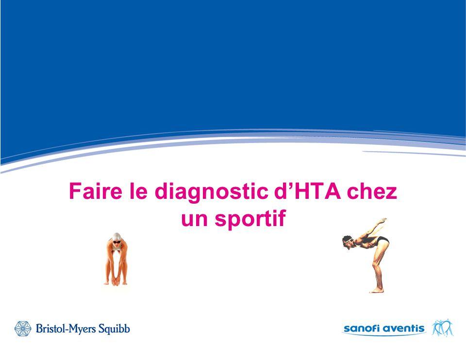 Faire le diagnostic d'HTA chez un sportif