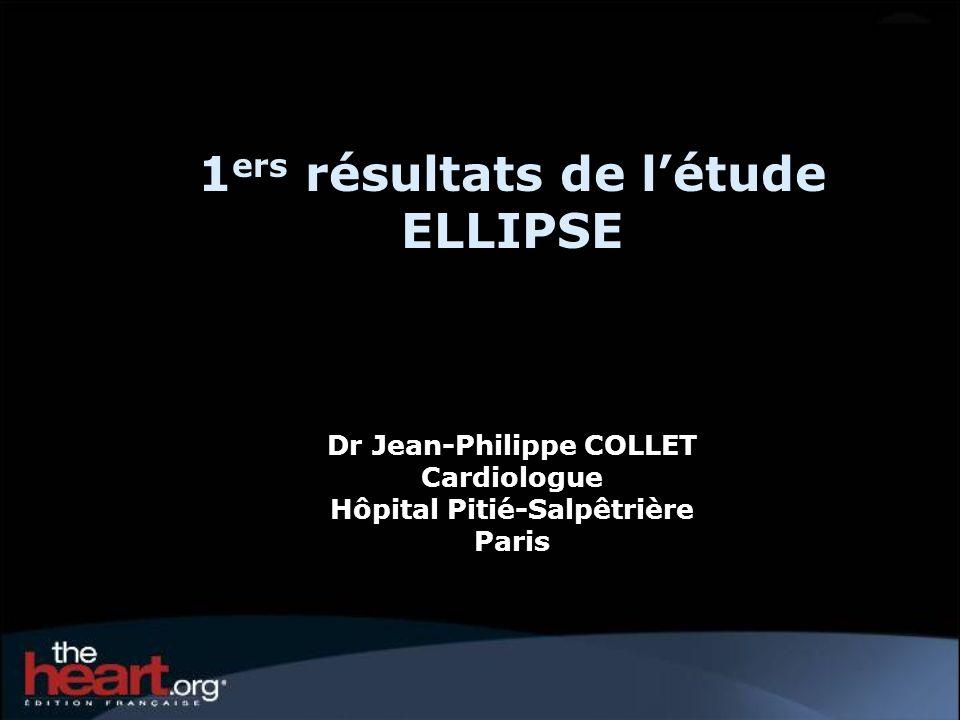 1ers résultats de l'étude ELLIPSE