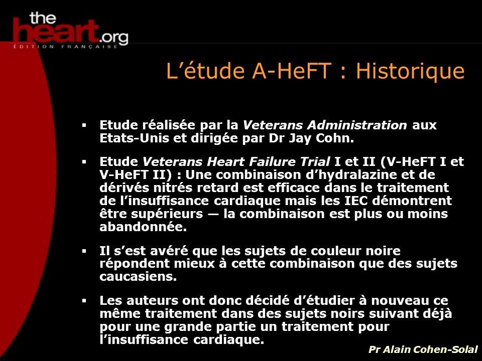 L'étude A-HeFT : Historique