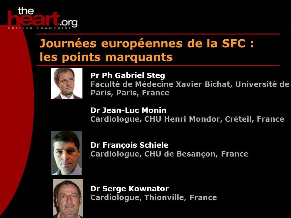 Journées européennes de la SFC : les points marquants