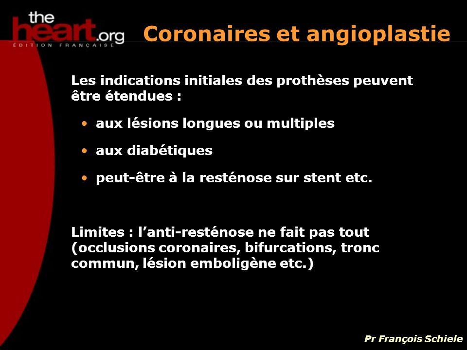 Coronaires et angioplastie