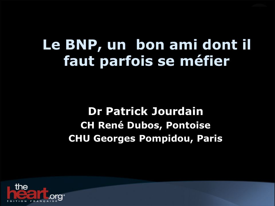 Le BNP, un bon ami dont il faut parfois se méfier
