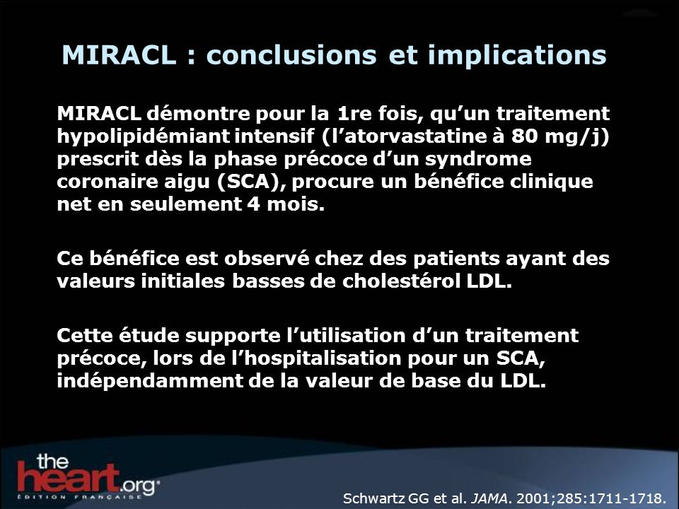 MIRACL : conclusions et implications