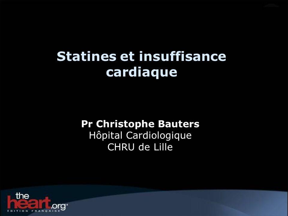 Statines et insuffisance cardiaque