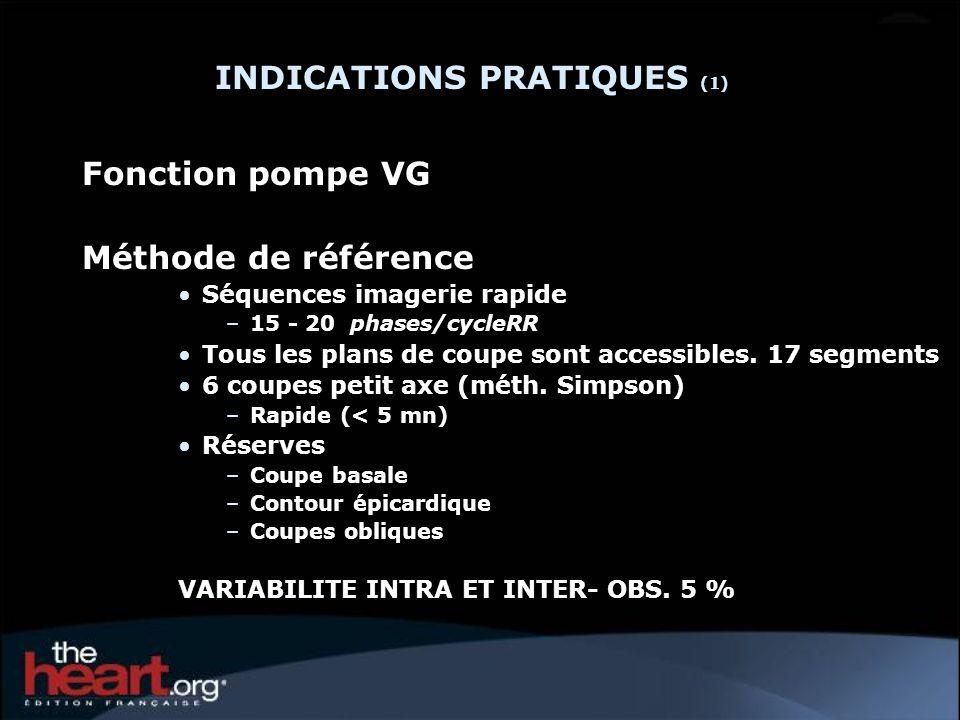INDICATIONS PRATIQUES (1)