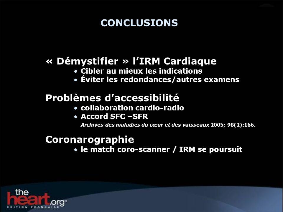 « Démystifier » l'IRM Cardiaque