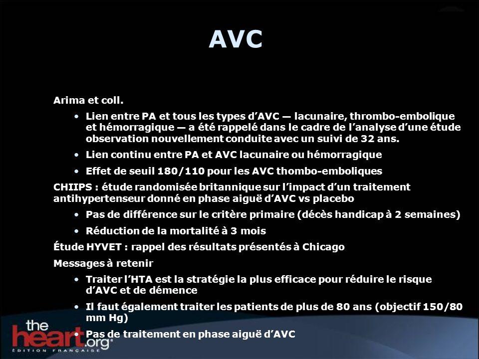 AVC Arima et coll.