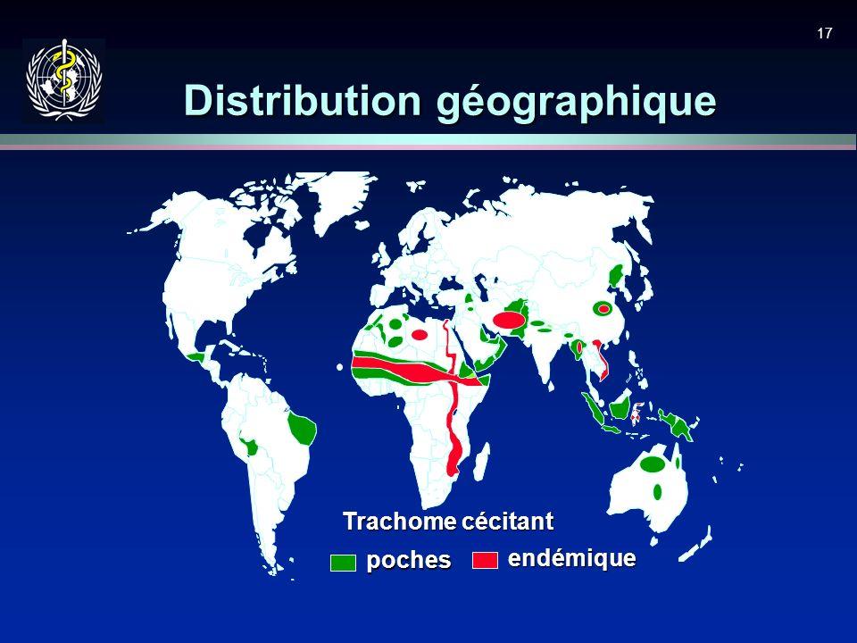 Distribution géographique