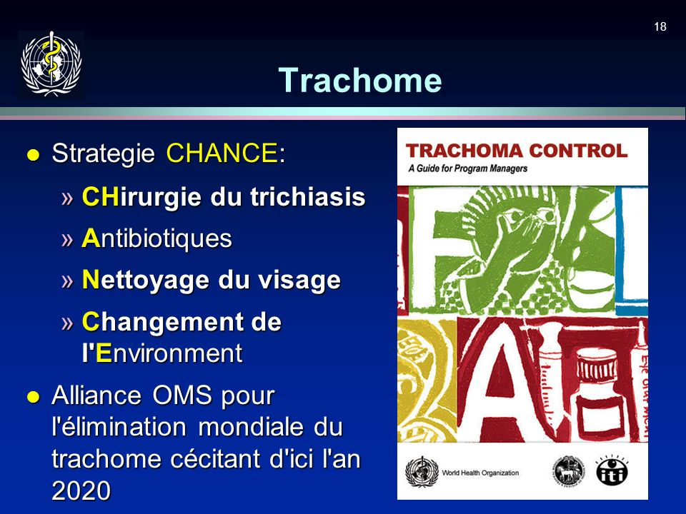 Trachome Strategie CHANCE: CHirurgie du trichiasis Antibiotiques