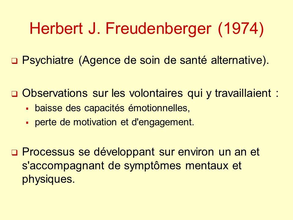 Herbert J. Freudenberger (1974)