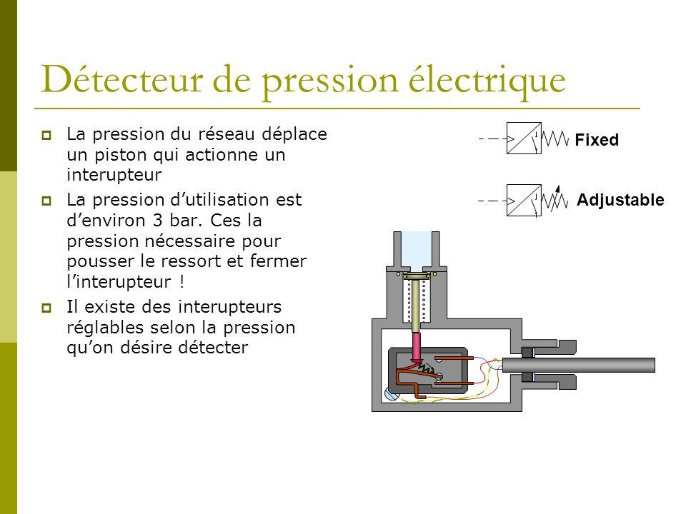 Détecteur de pression électrique