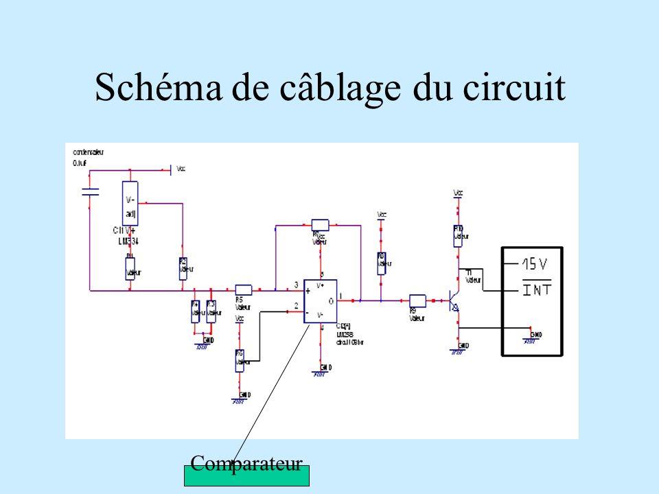 Schéma de câblage du circuit