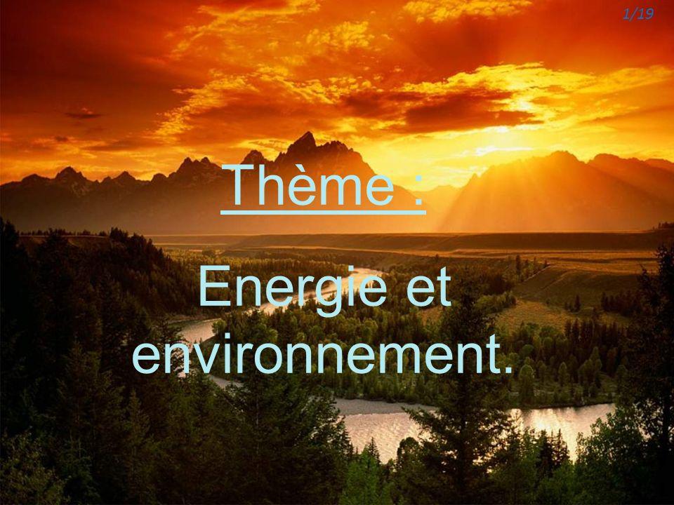 Energie et environnement.
