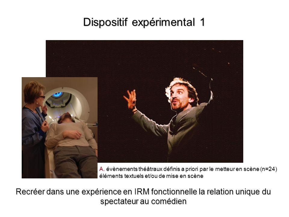 Dispositif expérimental 1