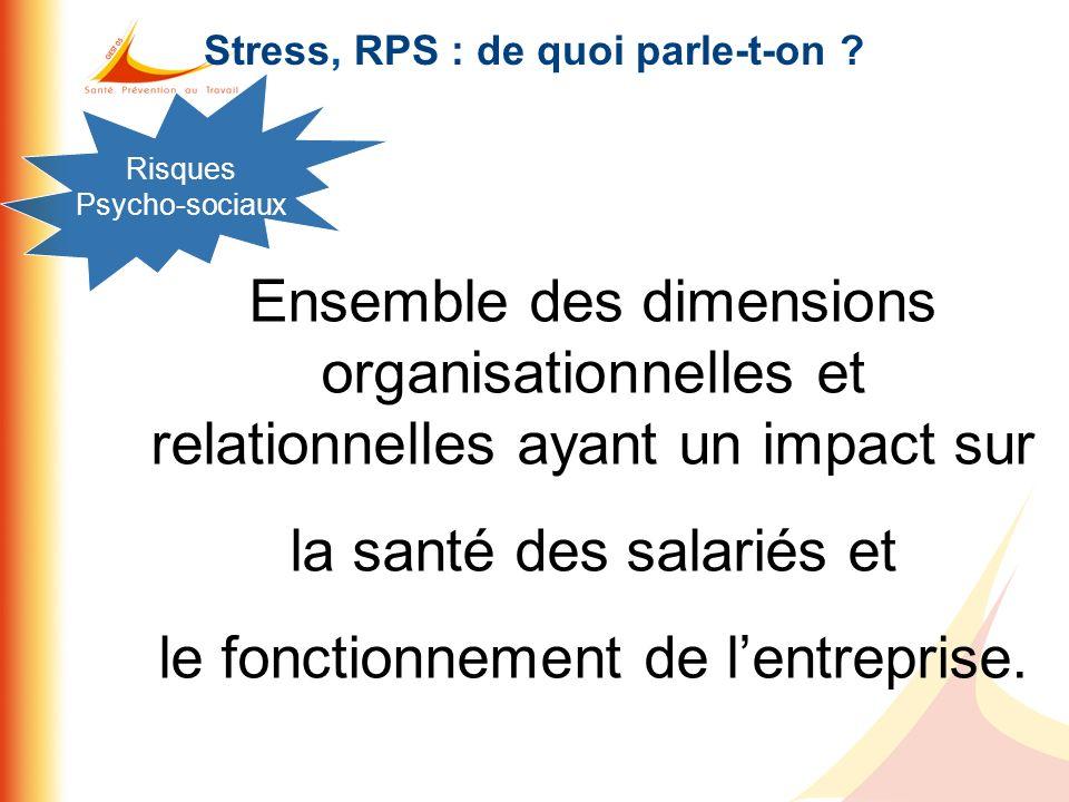 Stress, RPS : de quoi parle-t-on
