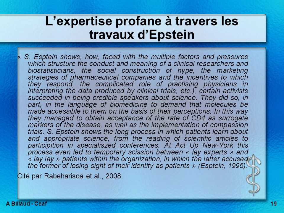 2.3. Diffusion d'une expertise profane