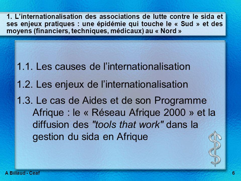 INTRODUCTION Le Sénégal comme « Terrain de jeux des ONG » et comme « laboratoire associatif » : le cas de la lutte contre le VIH.