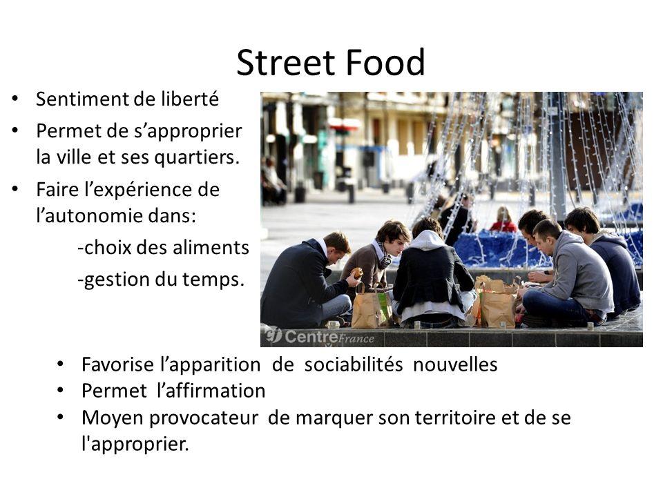 Street Food Sentiment de liberté