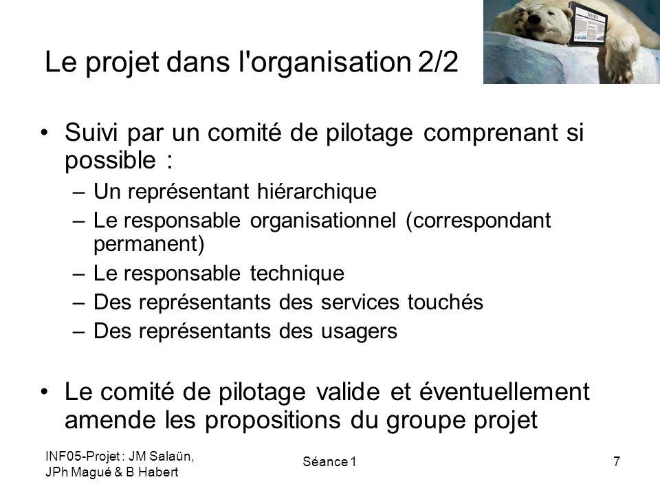 Le projet dans l organisation 2/2