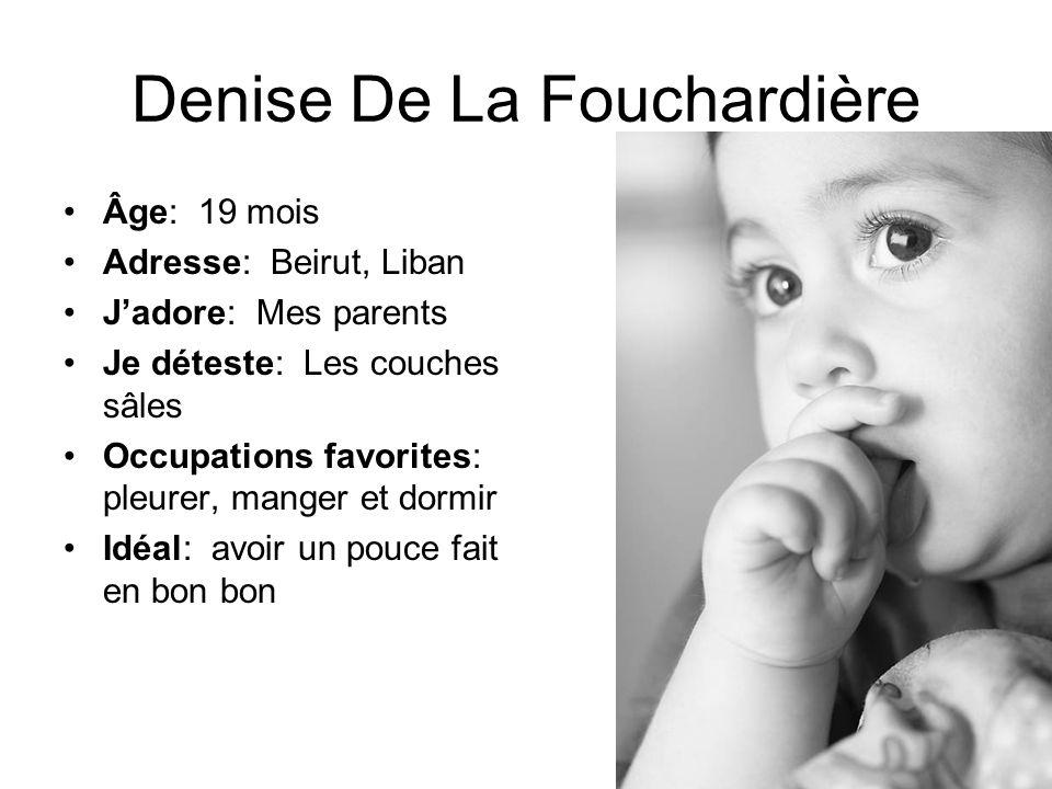 Denise De La Fouchardière