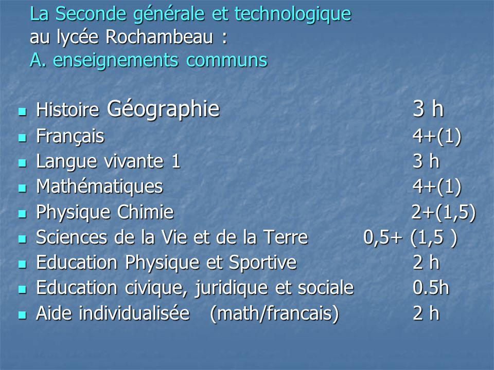 Sciences de la Vie et de la Terre 0,5+ (1,5 )