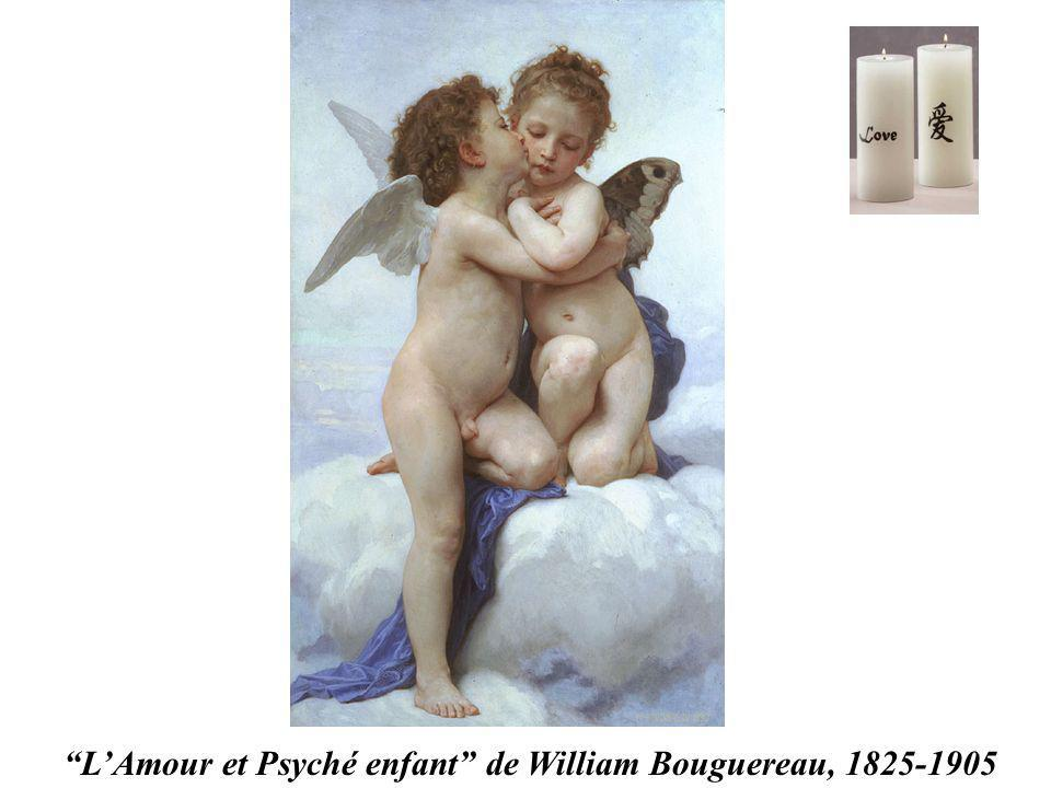 L'Amour et Psyché enfant de William Bouguereau, 1825-1905