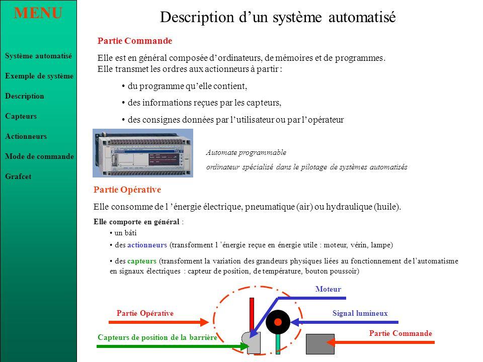 Description d'un système automatisé