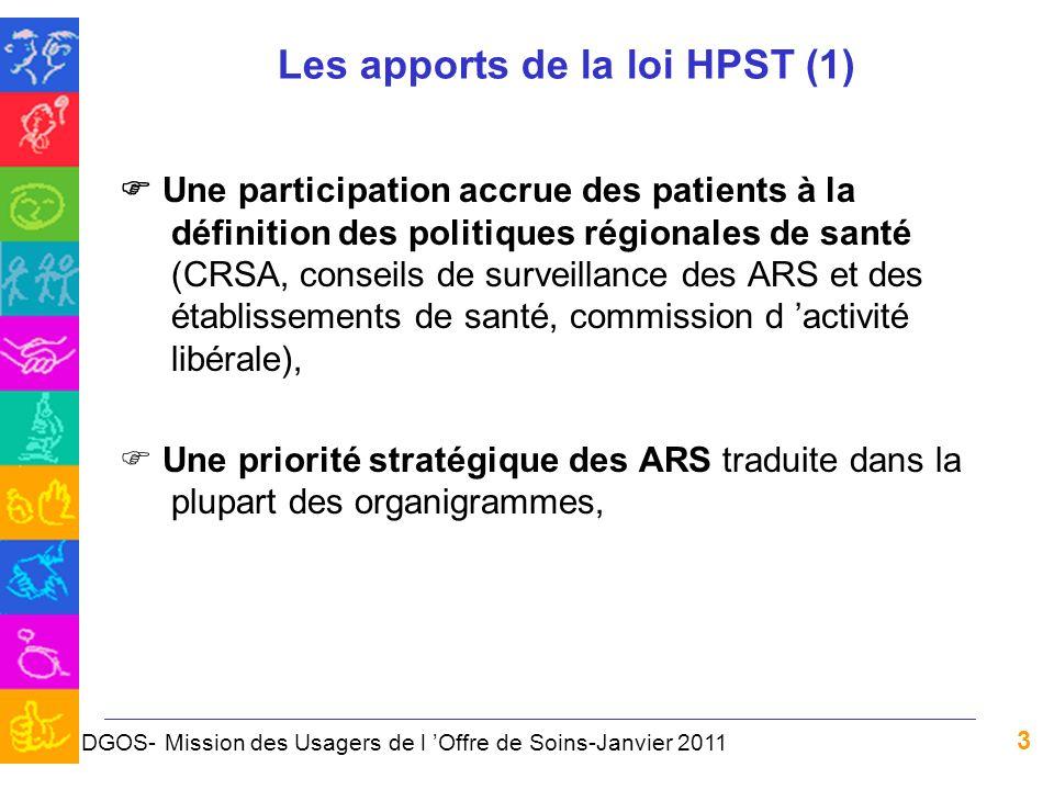 Les apports de la loi HPST (1)