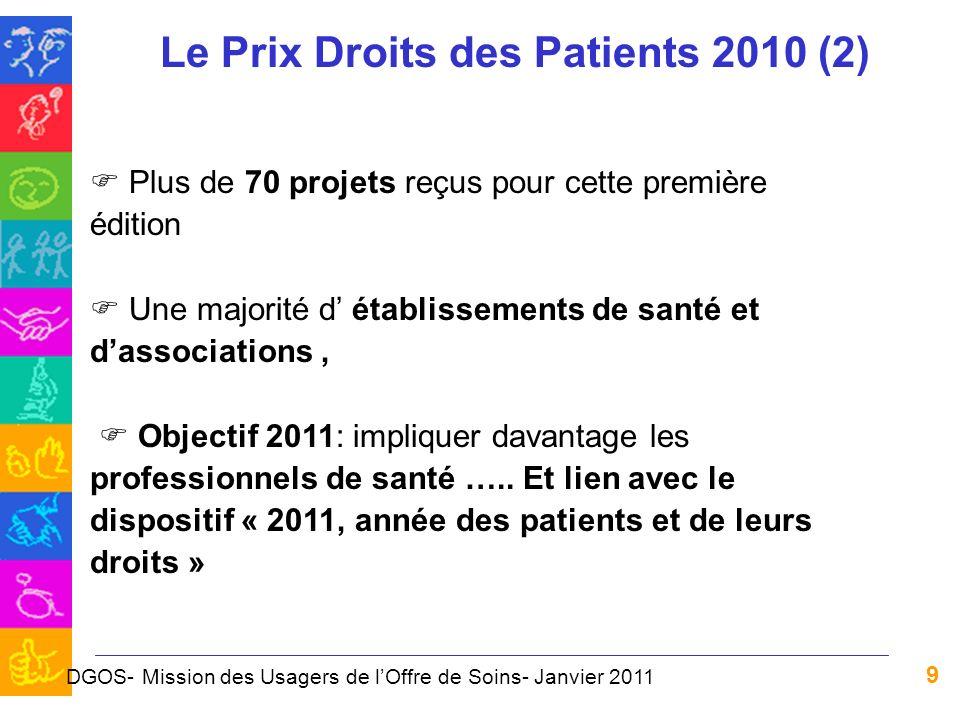 Le Prix Droits des Patients 2010 (2)