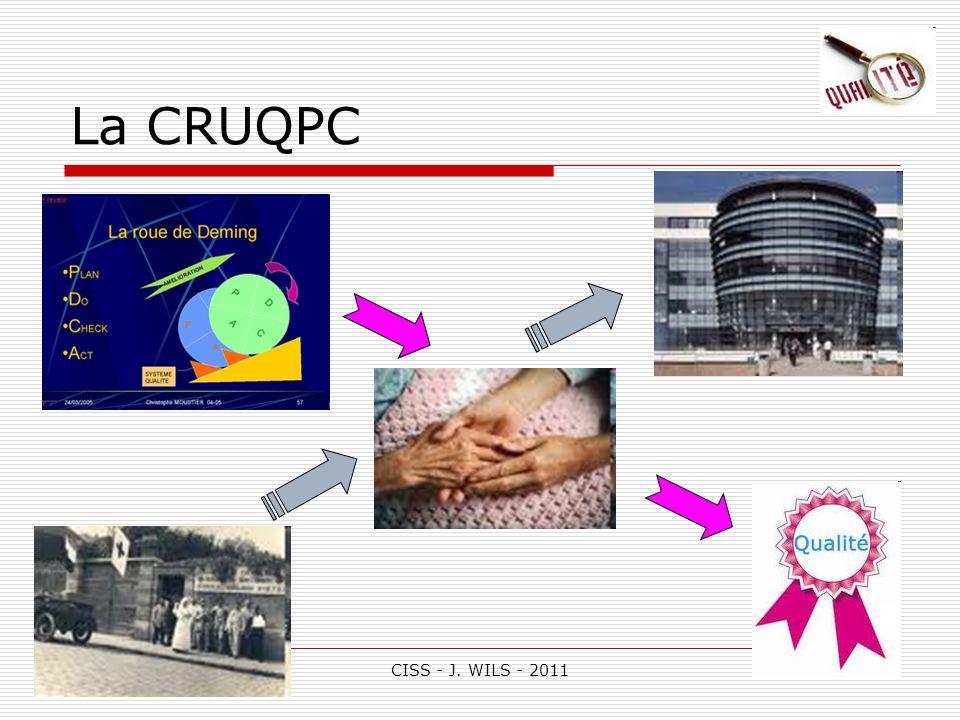 La CRUQPC CISS - J. WILS - 2011