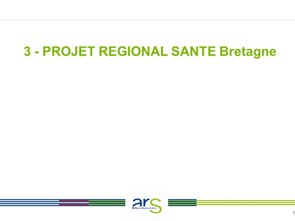 3 - PROJET REGIONAL SANTE Bretagne