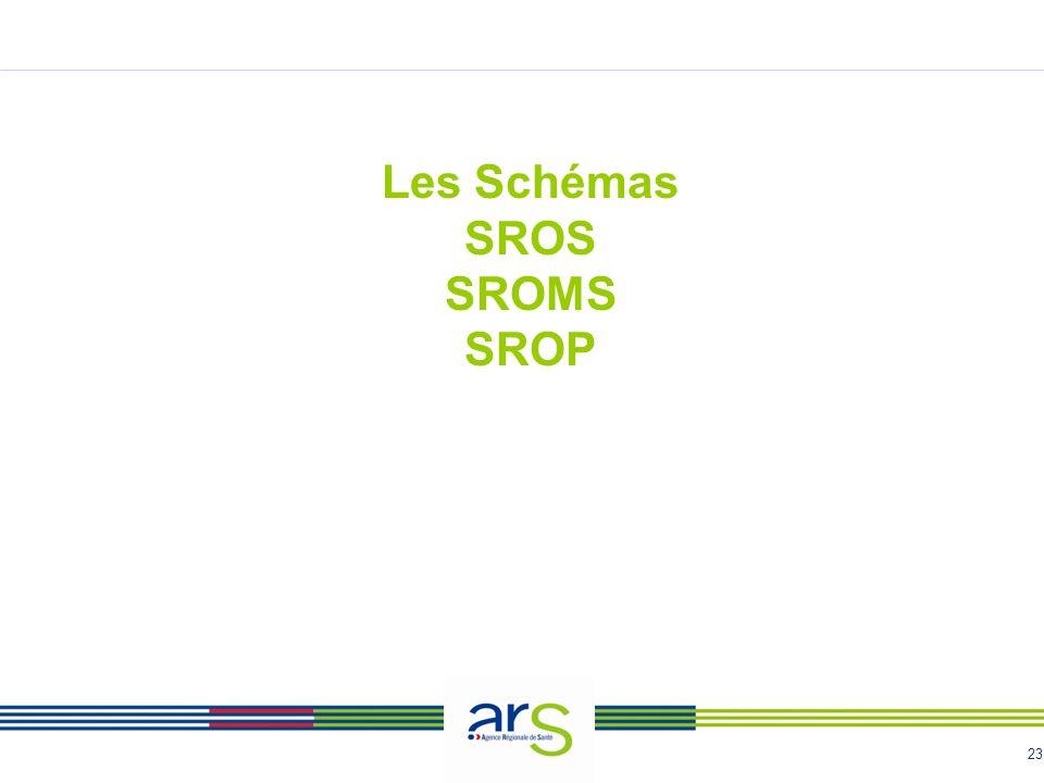 Les Schémas SROS SROMS SROP