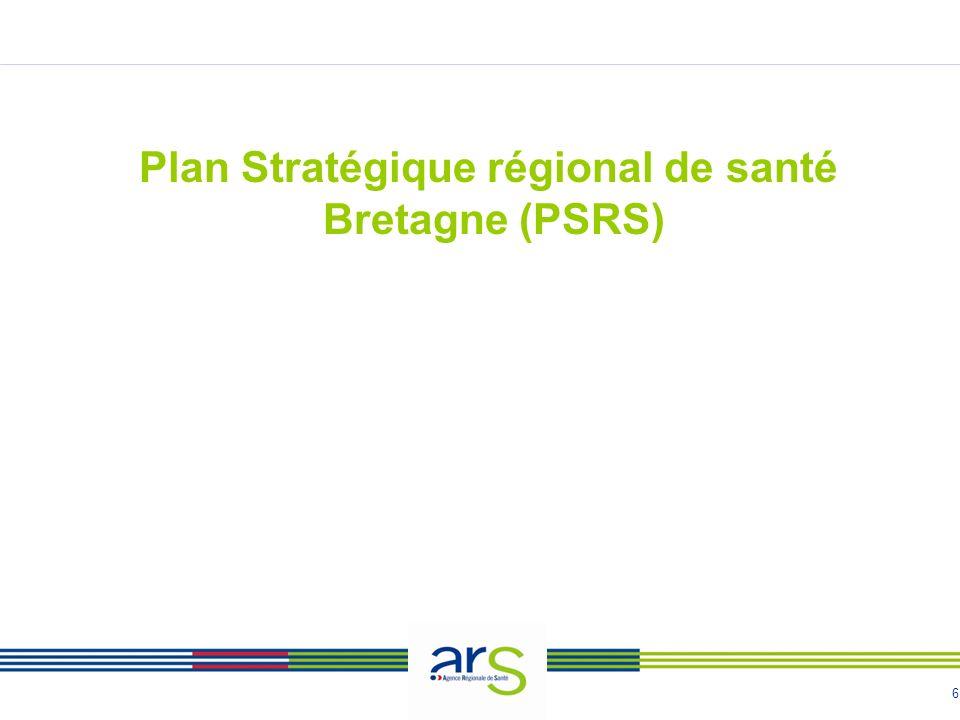 Plan Stratégique régional de santé