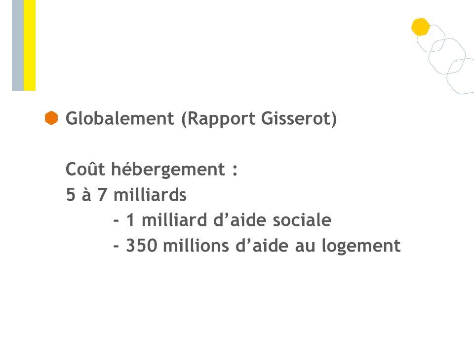 Globalement (Rapport Gisserot)