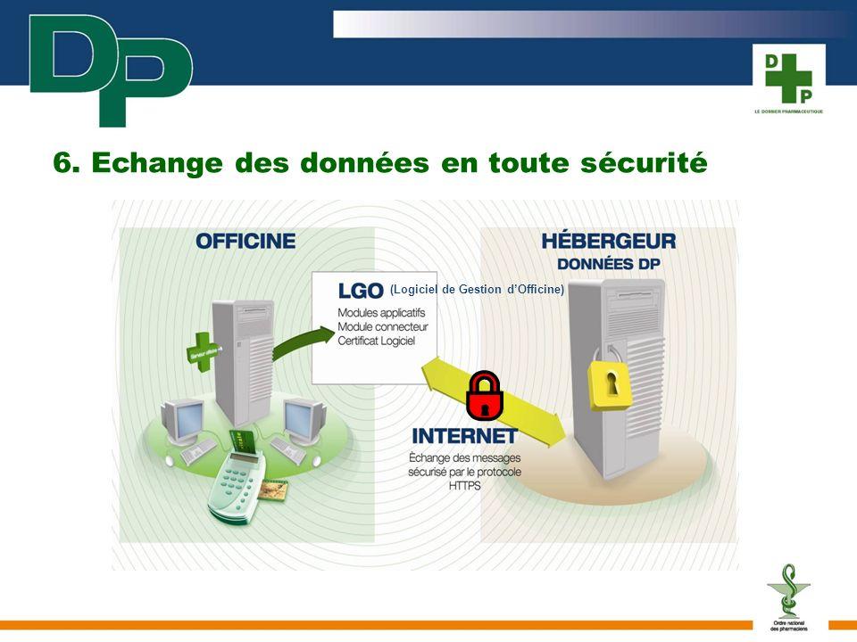 6. Echange des données en toute sécurité