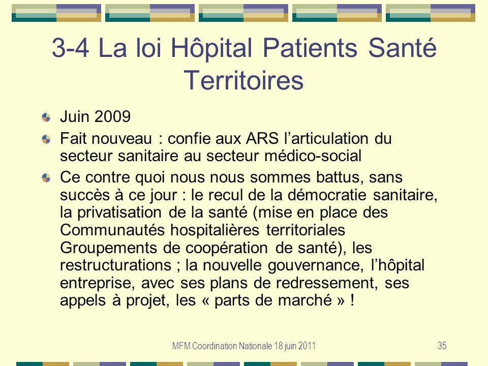 3-4 La loi Hôpital Patients Santé Territoires
