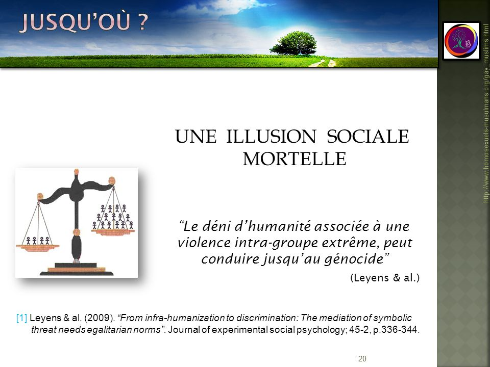 UNE ILLUSION SOCIALE MORTELLE