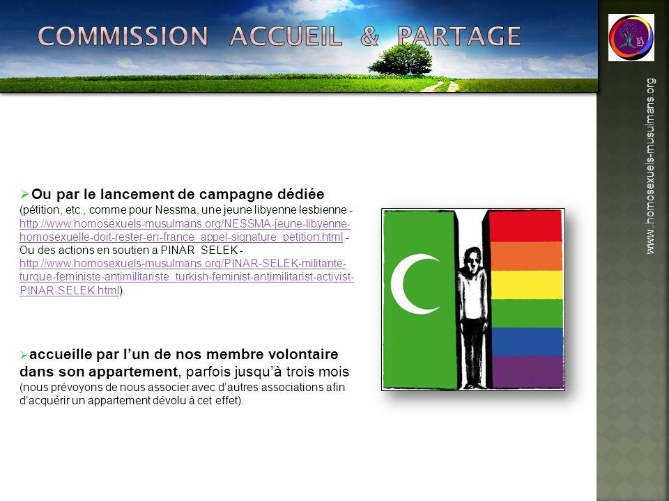 Commission accueil & partage