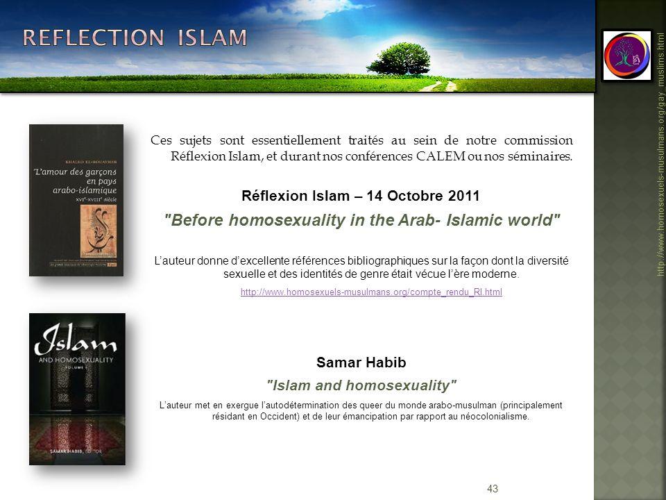 Réflexion Islam – 14 Octobre 2011