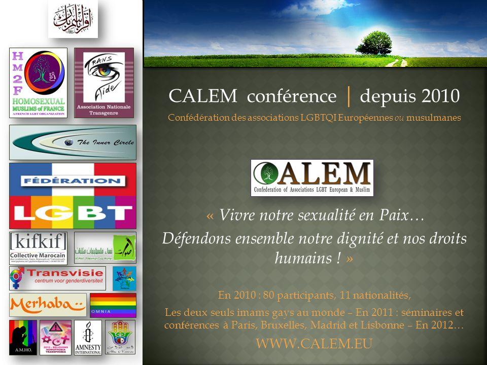 CALEM conférence | depuis 2010