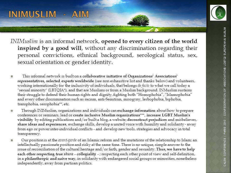 Inimuslim - aim