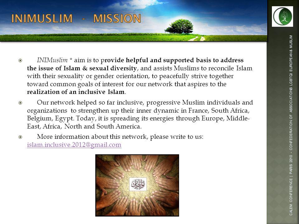 Inimuslim - mission