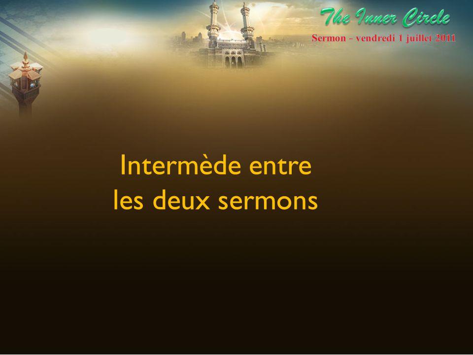 Sermon - vendredi 1 juillet 2011