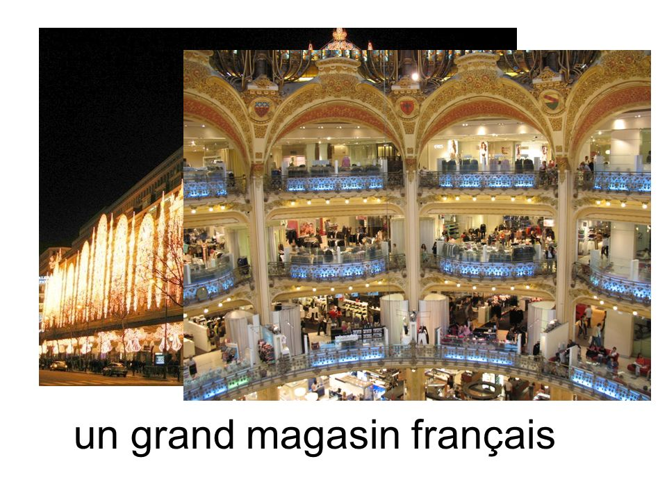 un grand magasin français