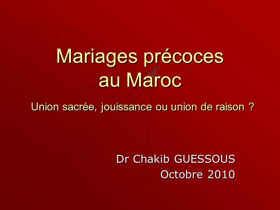 Dr Chakib GUESSOUS Octobre 2010