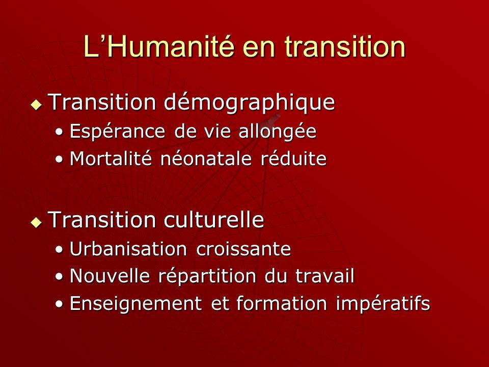 L'Humanité en transition