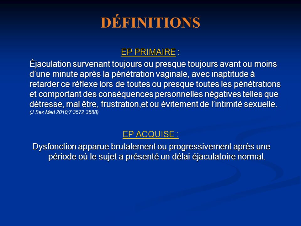 DÉFINITIONS EP PRIMAIRE :