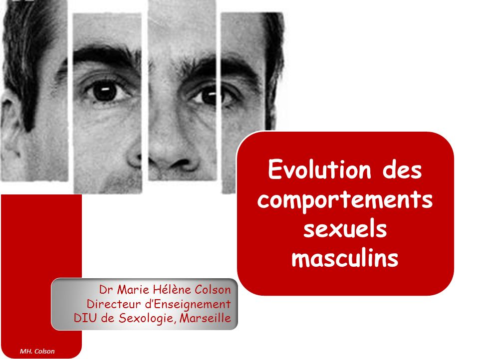 Evolution des comportements sexuels masculins