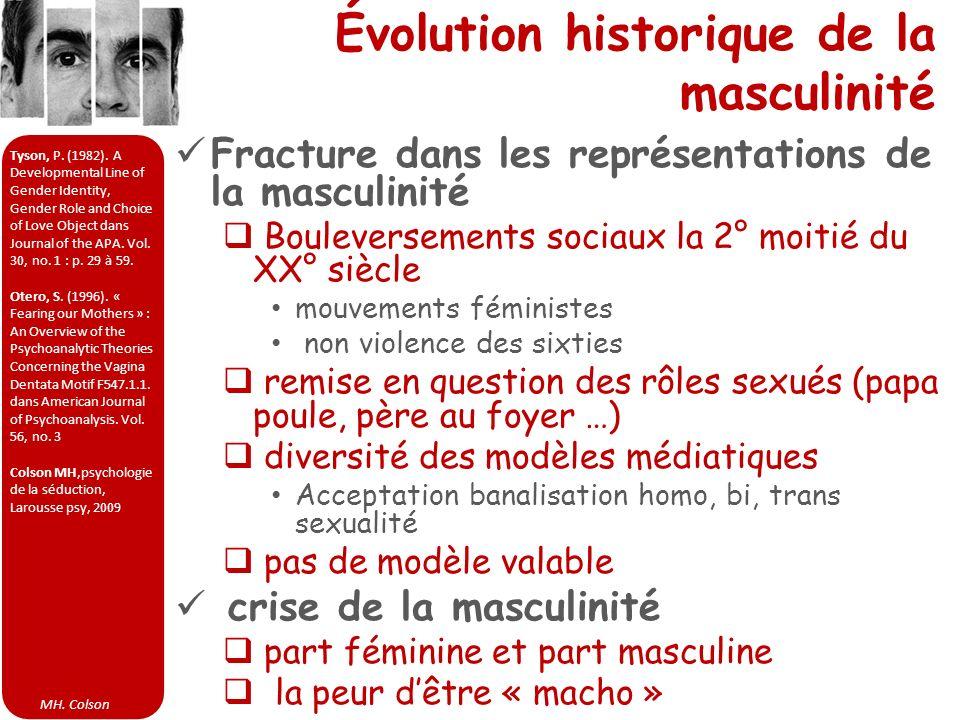 Évolution historique de la masculinité